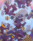 FOUR & TWENTY BLACKBIRDS Acrylic on Panel 30x24 inches