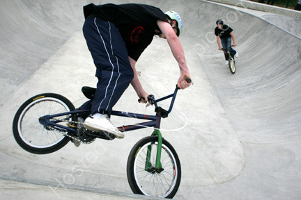 BMX bike at Stevenston