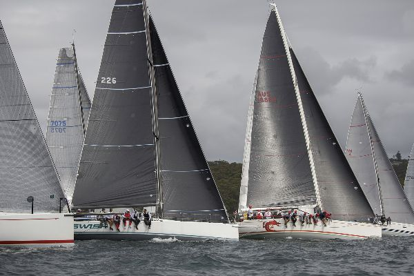 Start of Sydney Short Ocean Race 28/11/15