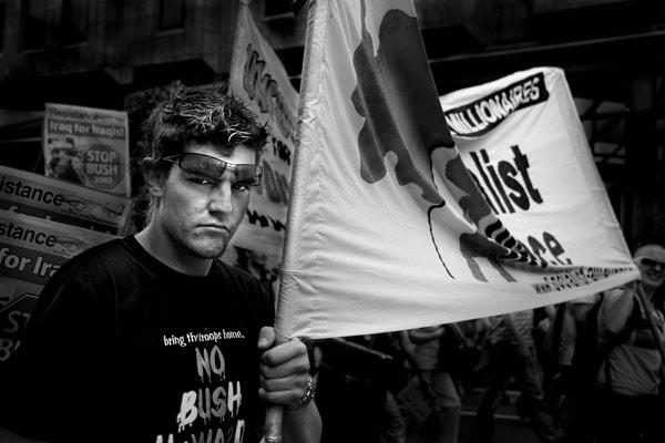 Anti-war Protestor