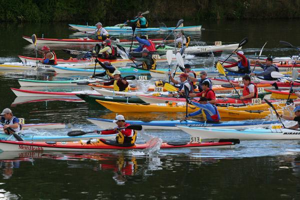 Start, Hawkesbury Canoe Classic 05