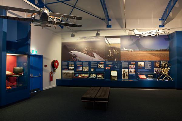 The Bruce Langford Visitors' Centre