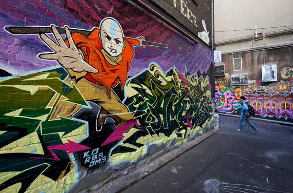 Graffitti Laneway