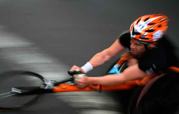 Wheel Chair Racer
