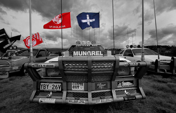 Aussie Utes and Flags