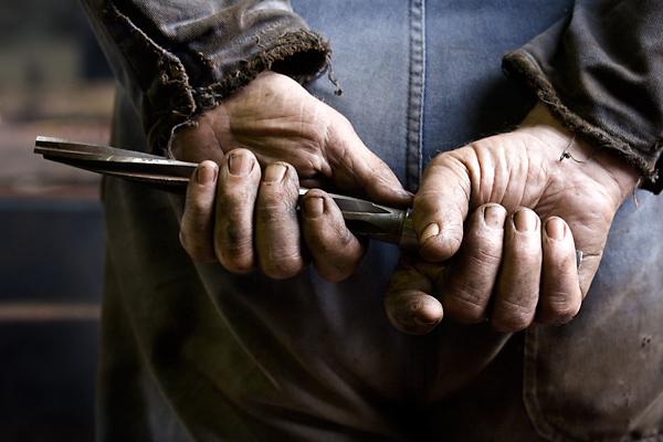 allan coker photography working hands