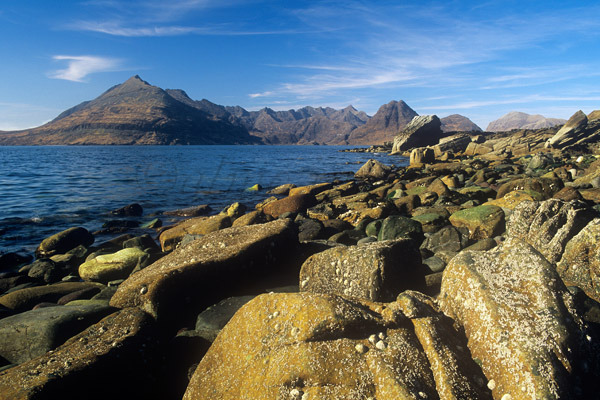 Cuillins from Elgol Beach