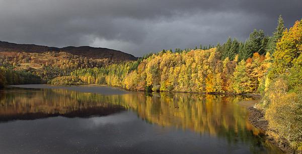 Autumn at Loch Faskally