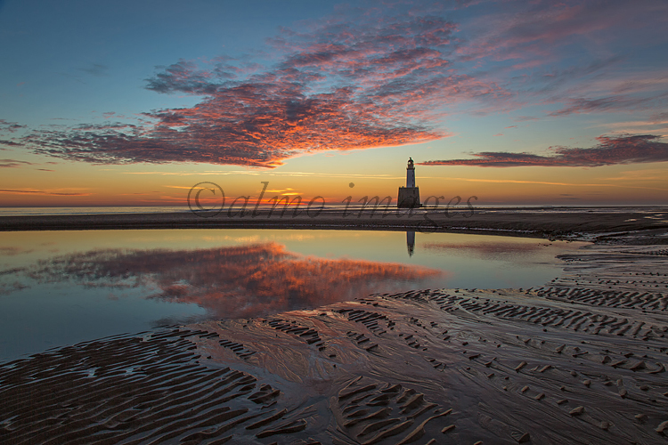 Rattray Head Lighthouse at dawn