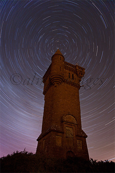 Airlie Monument Star Trails