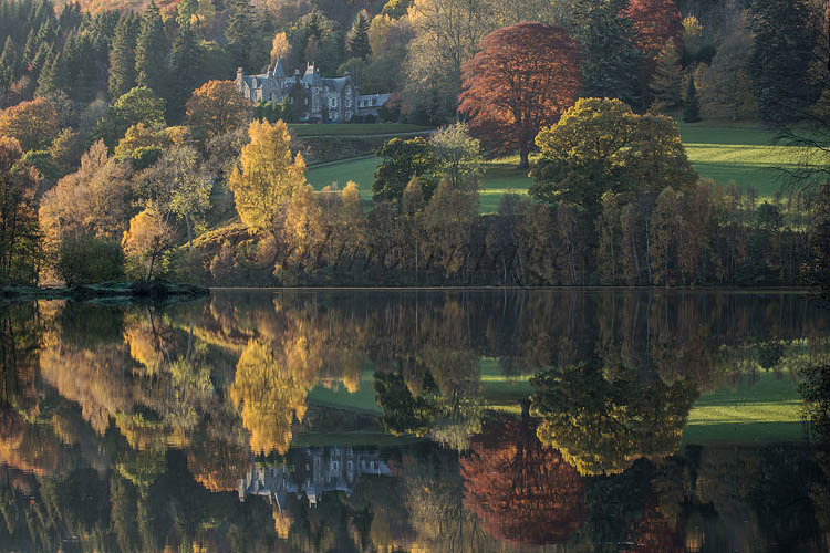 Reflections at Loch Tummel