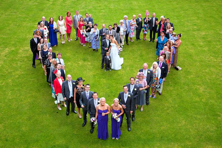 Heart shaped group