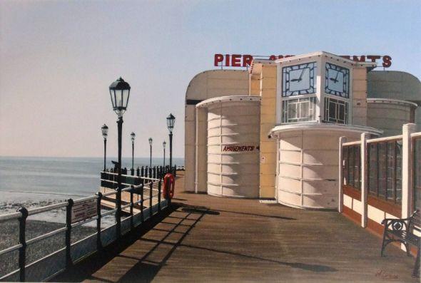 Morning Sun on Worthing Pier