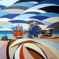 'Beached at Beer' SOLD