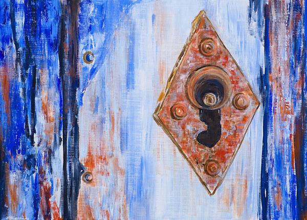 'Keyhole - Lagos' SOLD