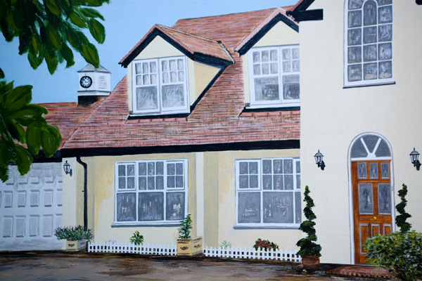 'Langdale' - Close-up of house 002