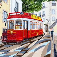 'Lisbon Tram' SOLD