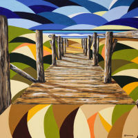 'Path to the beach' SOLD