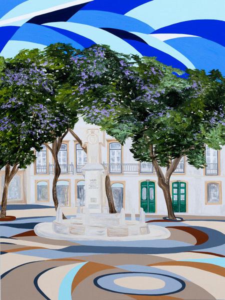 'Praça Luis de Camoes – Lagos' III SOLD