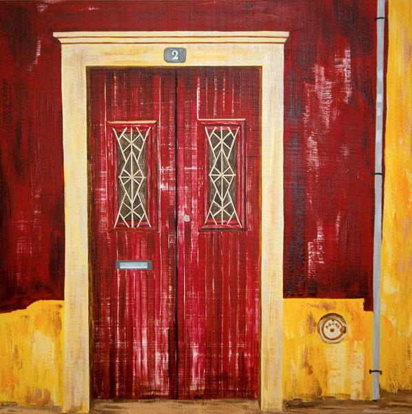'Red Door - Alcantarilha' SOLD