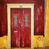 'Red Door - Alcantarilha' SOLD