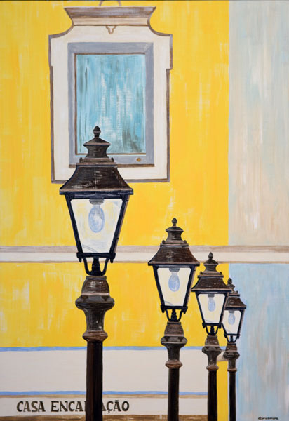 'Street Lamps - Silves' SOLD