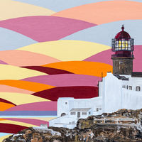 'Sunset at Sagres' SOLD