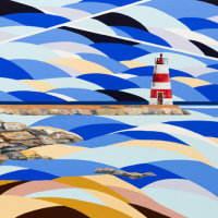 'Waves of Light' SOLD