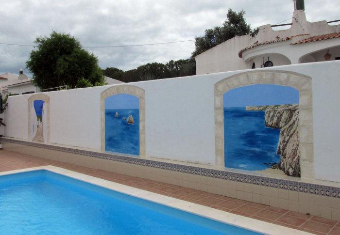 External Wall Mural Painting