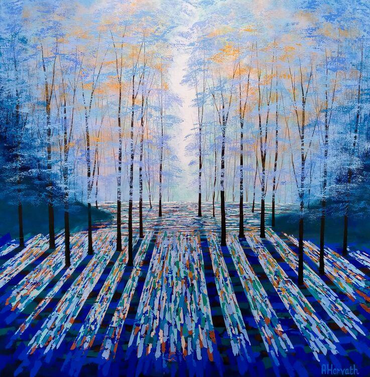 Deep Blue Forest