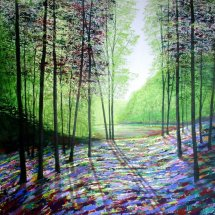 Spring Forest Light