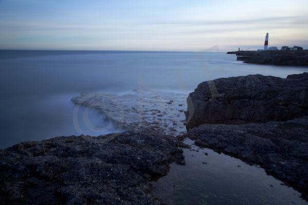 Portland Bill at Sunset