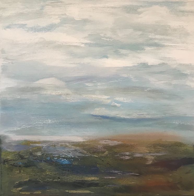 Bright Clouds Over the Marshes SOLD