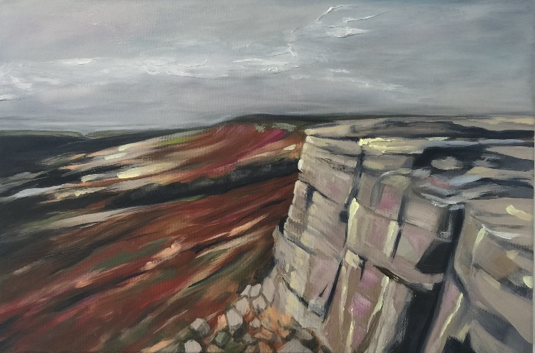 Stanage edge SOLD