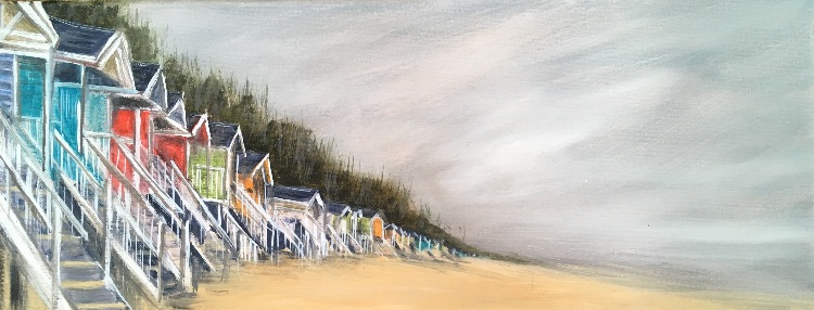 Beach huts at Wells SOLD