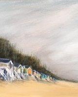 Beach huts at Wells SOLD