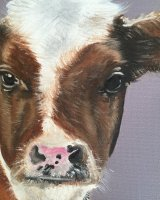 Little brown cow SOLD