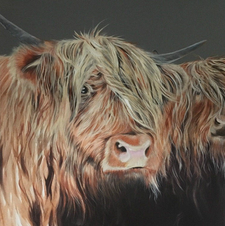 A pair of coos SOLD