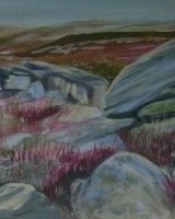 Gritstone and heather SOLD