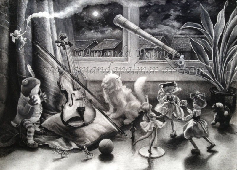 'The Cat and the Fiddle'