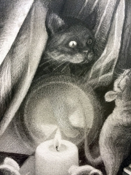 'Cat and Mouse' (Detail)