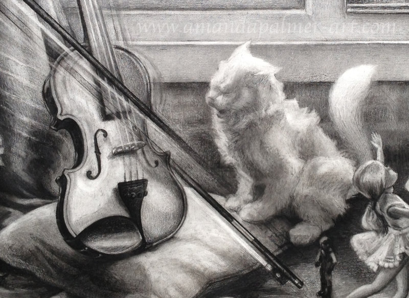 The Cat and The Fiddle (Detail)