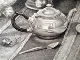 'The Tea Party' (Detail)
