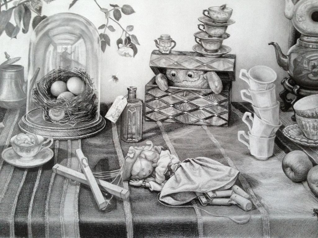 'The Tea Party' (Detail)
