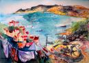 Wash Day at Runswick Bay *SOLD*