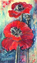*SOLD*Poppies