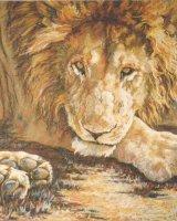 Animal Art - Lion Commission