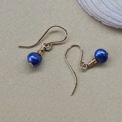 Pearl Nuggets on Gold Filled Hooks £14