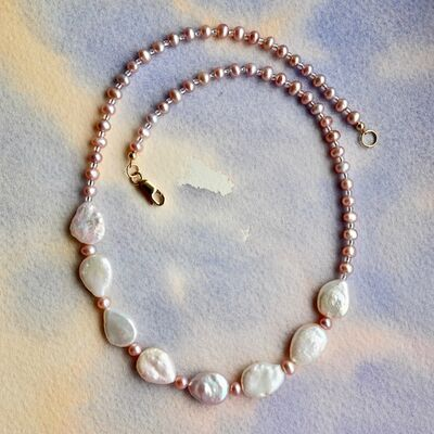 Teardrop Pearls with Gold Filled Clasp £49