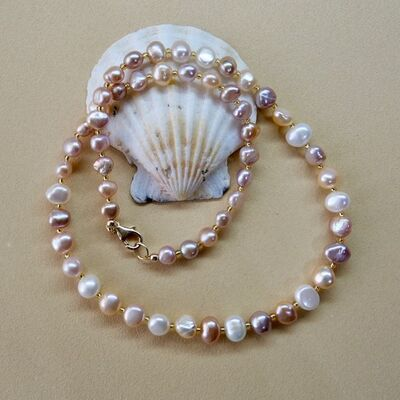 Pearl Nuggets with Gold Filled Clasp £42